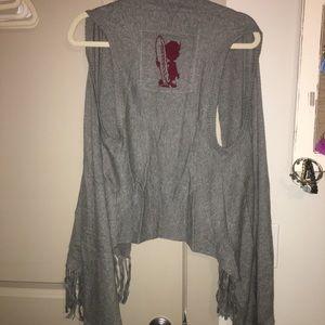 Hollister grey vest